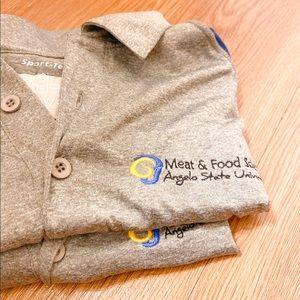 Angelo State meat and science polo's